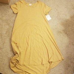 LuLaRoe Dresses - Yellow Carly dress